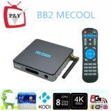Fernsehapparat-Spitzenkasten Mecool Bb2 Android 6.0 Octa Kern CPU-BT 4.0 mit Aml S912
