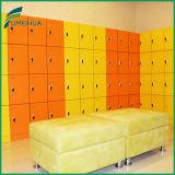 多彩積層のサウナ部屋のロッカーを防水しなさい