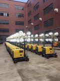 Tour d'éclairage Rplt1600 mobile avec la lampe haloïde en métal 4*400