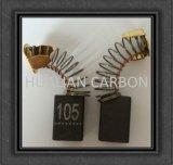 Kohlebürste-Preis mit dem kleinen Funken/Dongcheng Energien-Hilfsmittel-Pinsel-Kohlenstoff CB-105 gebildet vom Graphit D252