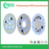 PCB base de aluminio de alta potencia para la iluminación del LED.