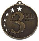 Medalha feita sob encomenda da lembrança do ouro 3D da alta qualidade