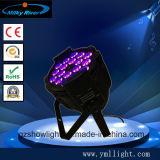 9PCS 3 in-1, 4 in-1, 5 in-1, 6 in-1 LED NENNWERT Licht (nachladbarer geschlagener Eierteig +wireless DMX) flaches NENNWERT Licht