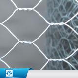 農場の塀または電流を通されたPVCによって塗られる溶接された金網の塀の網のためのPVCによって塗られる六角形ワイヤー網か六角形ワイヤー網