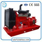 Pompe à eau centrifuge d'irrigation à plusieurs étages horizontale avec le moteur diesel