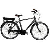 2017 أنثى مدينة درّاجة كهربائيّة مع محاكية منتصفة