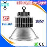 Alta cubierta de la luz de la bahía de la luz LED de la lámpara de la bahía del LED alta