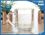 250ml vendent la cuvette en verre anti-calorique transparente sans plomb de cuvette de café