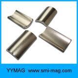 Материал NdFeB дуги постоянного магнита магнитный