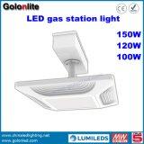 Super helle 130lm/W 100W 120W 150W hohe Tankstelle-Kabinendach-Lichter des Lumen-LED