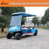 Carro de golfe elétrico de Seater da venda quente e do veículo eléctrico novo 4 do projeto com certificado do Ce