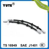 Profesional Yute SAE J1401 manguera de frenos con montaje para motocicletas