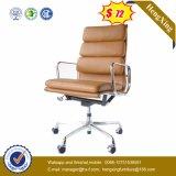 Presidenza ergonomica di lusso dell'ufficio del cuoio della mucca della parte superiore della presidenza della sporgenza (HX-NH092)
