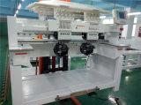 1000 Nadel-kleidet doppelte Hauptstickerei-Maschine der Geschwindigkeits-15 für Schutzkappe Stickerei