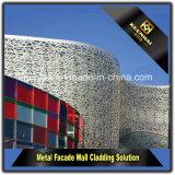 Bekledingspaneel van de Muur van de Voorzijde van het Aluminium van Keenhai het Buiten Decoratieve Veelkleurige