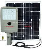 lámpara de calle solar de la inducción infrarroja elegante 50W para el patio
