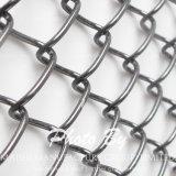 Cerca revestida de la conexión de cadena