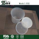 Ciotola rotonda dei contenitori di alimento della ghiottoneria di plastica 32 once. (con i coperchi)