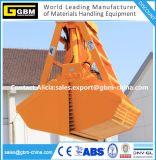 Massenhandhabenhydraulisches elektrisches Fernsteuerungsmaschinenhälften-Zupacken für Kohle-Korn