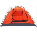 Barraca Rainproof dobro de acampamento da montanha ao ar livre luxuosa de 4 povos