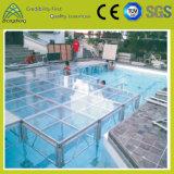 屋外の屋内パフォーマンス調節可能な透過緩和されたガラスの軽い段階