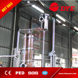 destilador elevado do álcôol da vodca elétrica do conhaque da gim do uísque do aquecimento 200L