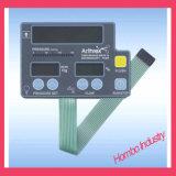 Водоустойчивый переключатель мембраны кнопок для электрической плиты