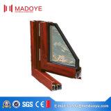Рамка двойной застеклять алюминиевая Опрокидывать-Поворачивает окно для роскошной общины резиденции