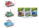 spielt Papierauto DIY des puzzlespiel-3D Förderung-Geschenk (H4551405-412)