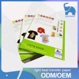 Бумага передачи тепла хлопка тенниски 100 высокого качества оптовой цены темная