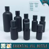 Schwarze farbige Glas-wesentliches Öl-Mattflasche