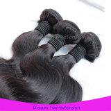 Natürliche Farben-malaysisches Karosserien-Wellen-Jungfrau-Haar