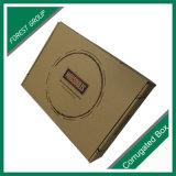 Черным напечатанная логосом коробка гофрированной бумага 3ply пересылая