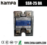 C.C de SSR 25da à AC de la sortie 24-480V de C.C de l'entrée 3-32V du relais semi-conducteur SSR-10da monophasé à C.A.