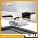 2017 rattan caldi della mobilia della stanza di seduta del patio del giardino di vendita di nuovo disegno/insieme di vimini del sofà