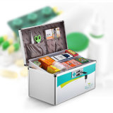 Plata de múltiples funciones R8030 del rectángulo de la medicina del kit de primeros auxilios del Portable