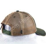 6 chapeaux de camionneur de base-ball de maille de panneau