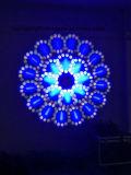 luz principal móvil de la viga de 5r Sharpy 200W con (16+8) prisma y 6 Gobos de cristal Nj-B200A para la iluminación del club de noche de la etapa del disco de DJ