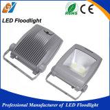 L'alta qualità IP65 impermeabilizza il proiettore di 100W LED, indicatore luminoso di inondazione esterno del LED