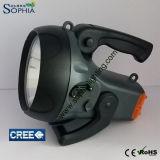 Leistungs-Taschenlampe, Gewitterleuchte, Leistungs-Fackel, LED-Fackel-Licht, LED-Laterne, Licht jagend