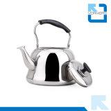 caldaia di tè piana non elettrica dell'acqua inferiore dell'acciaio inossidabile 4L/5L/6L