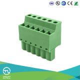 Conector enchufable femenino del bloque de terminales Ma2.5ca/H5.08 del PWB