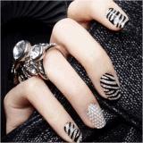 стикер ногтя стикеров искусствоа ногтя воды украшения 3D кристаллический DIY