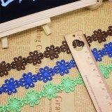 Шнурок новой утески вышивки полиэфира ширины оптовой продажи 2.3cm штока фабрики конструкции Nylon для одежд & домашних тканиь & вспомогательного оборудования занавесов (BS1044)