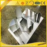 Pièces en aluminium propres d'aluminium de profil anodisées par fournisseur de la Chine