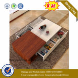 Petits meubles de bureau centraux latéraux en bois de table basse (HX-CF017)