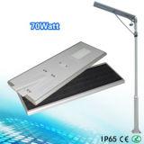 Lumière solaire de jardin de /Solar de réverbère du contrôle 70W de Bluetooth $$etAPP