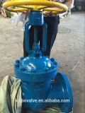Válvula de porta do GOST (flangeada, Py40, Dn100/200, aço de molde