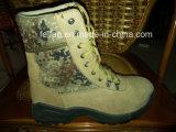 &Nbsp; Разделенные профессионалом ботинки безопасности выбитой кожи