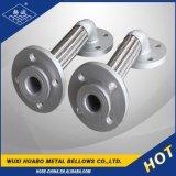 Accompagner le tuyau de métal flexible